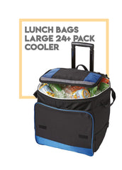 Lunch Bags Large - 24+ Pack Cooler