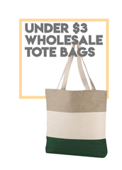 Under $3 Wholesale Tote Bags  / Cheap totes