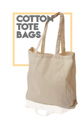 Wholesale Cotton Tote Bags / Cheap Tote Bags