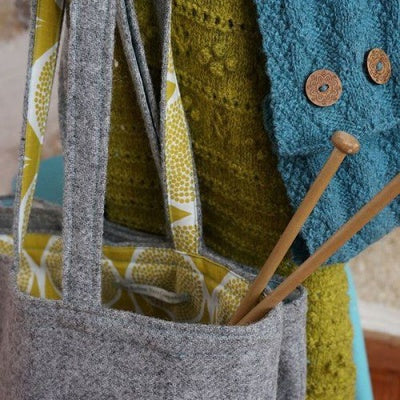 repurposed tote bag