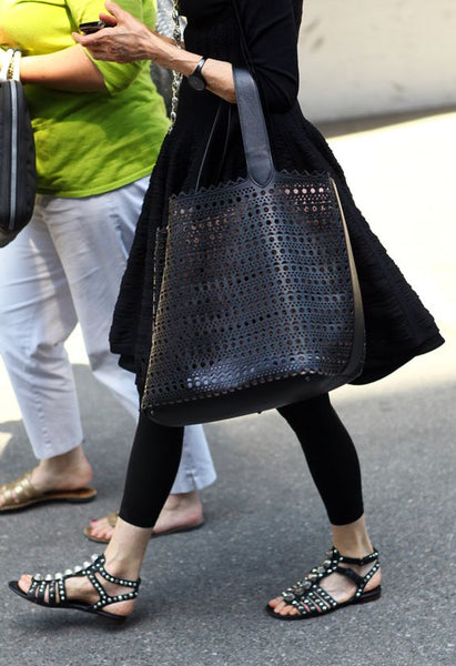 Black-Outfit-Skirt-Tote-Bag
