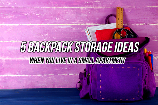 backpack storage ideas