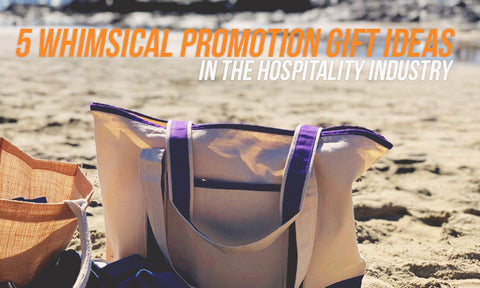 We have talked many times before about innovative and cool promotion gift ideas to surprise collaborators colleagues or conference attendees. & 5 Whimsical Promotion Gift Ideas in the Hospitality Industry