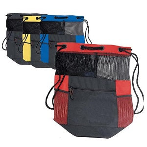9ab4fa2a8a Mesh is a frequently used feature of many backpacks or drawstring bags. We  use the mesh for backpack pockets or for lining drawstring rucksacks