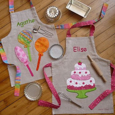 kitchen aprons for children