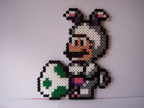 A Mario Easter pixel art decoration for your gamer friend