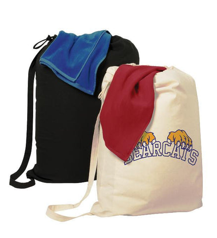 custom printed drawstring backpacks laundry bags