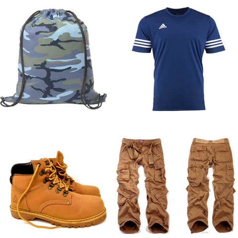 sporty look for men