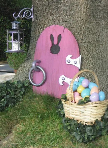 Easter bunny door and basket