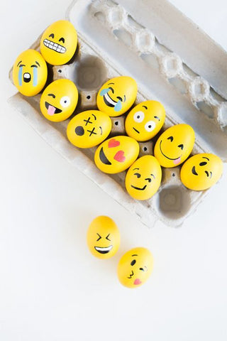 Easter egg emojis