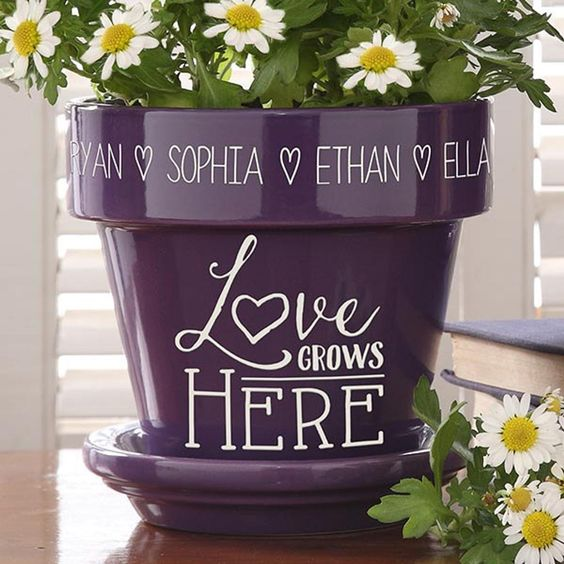Personalized-Mothers-Day-Gift-Flower-Pot