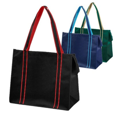 multiple cotton tote bags