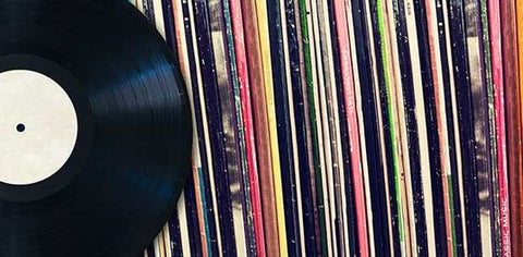 Vinyl records from your friends' favorite artists