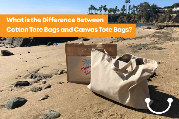 Difference Between Cotton Tote Bags and Canvas Tote Bags