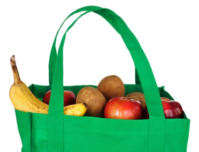 fruits in tote bag