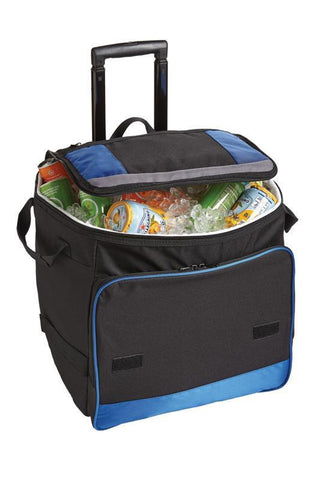 insulated lunch bag with wheels and handle
