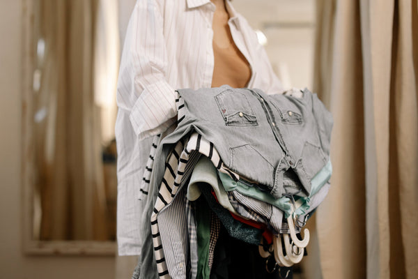 Woman-Stack-Clothes