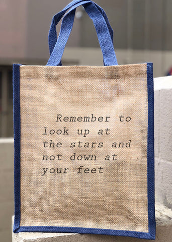 This type of font imitates an old typewriter and it is perfect for  embroidering your bag with famous quotes and sayings. The visual effect is  stunning 198e5c962575