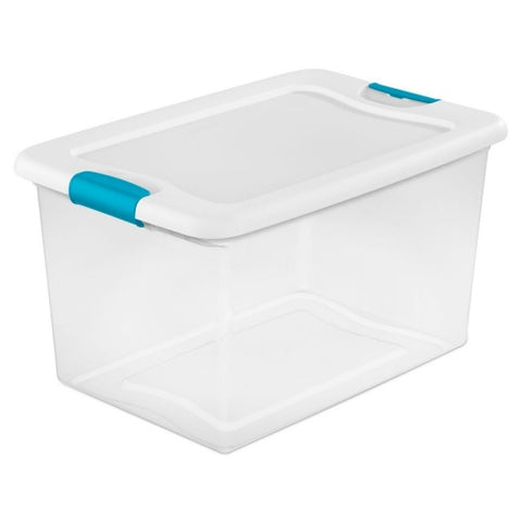 clear stackable box