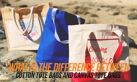 What Is The Difference Between Cotton Tote Bags And Canvas