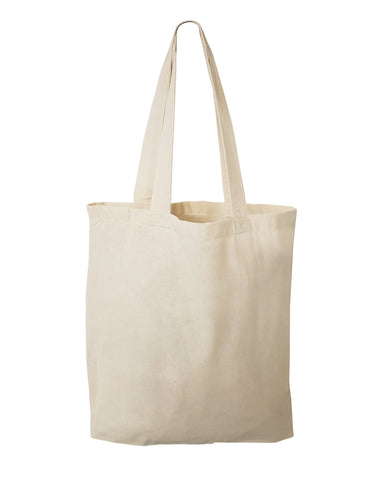 "12 ct SMALL Cotton 11"" Tote Bag / Favor Gift Bags - By Dozen"