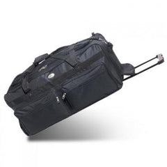 Durable Black 36-Inch Deluxe Wheeled Duffel Cheap