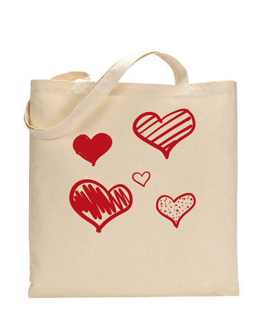 Hearth Tote - Valentine's Tote Bag