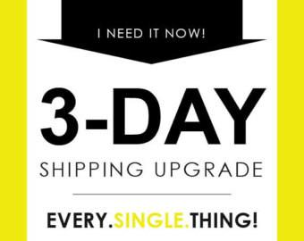 Expedited Shipping Upgrade 2 days