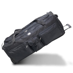 School Black 42-Inch Deluxe Wheeled Duffel Wholesale