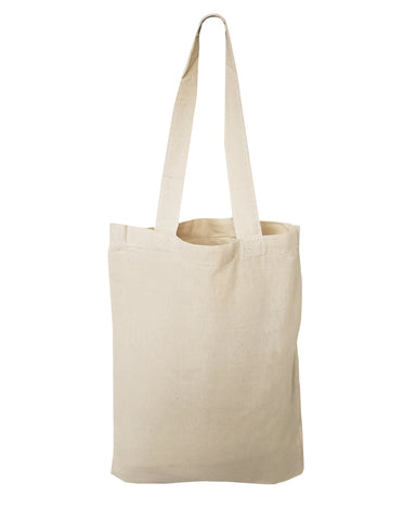 "12 ct SMALL Cotton 9"" Tote Bag / Favor Gift Bags - By Dozen"