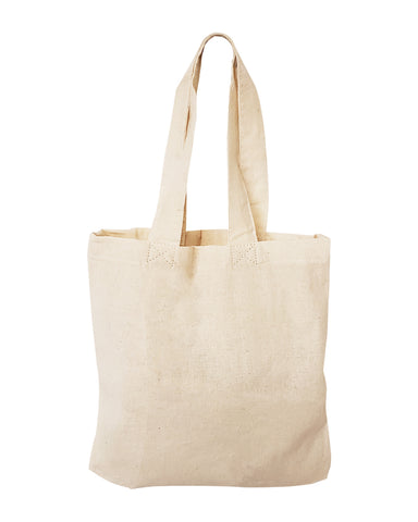 "336 ct MINI Cotton 8"" Tote Bag / Favor Gift Bags - By Case"