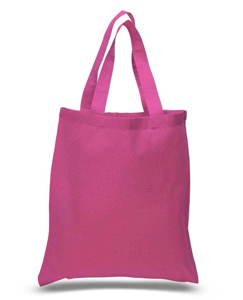 bc864f597 ... Canvas Reusable Tote Bags Hot Pink ...