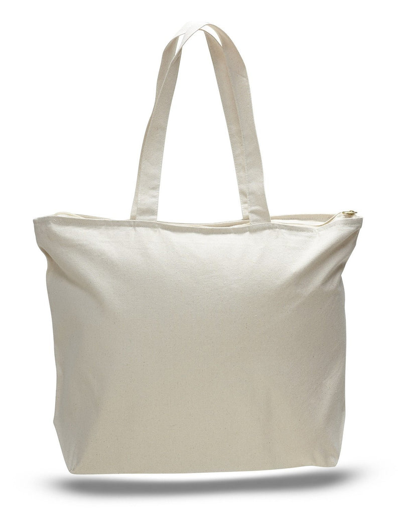 """Large Big Reusable Grocery Shopping Totes Bag Bags Zippered Heavy Duty 20 X 15/"""""""