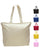 Heavy Canvas Tote bag with Zipper - Zippered Tote Bags