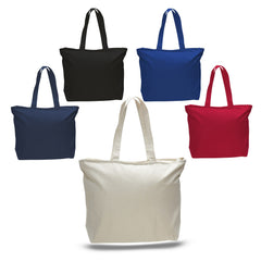 Canvas Tote Bags with Zipper 95f1bb6b62306