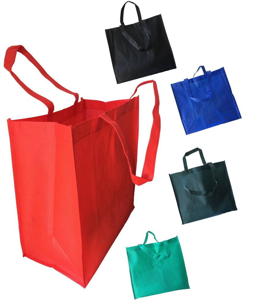 Tote bag in bulk - From 0 87 Was 2 45 Red Grocery Large Tote Bags Thumbnail