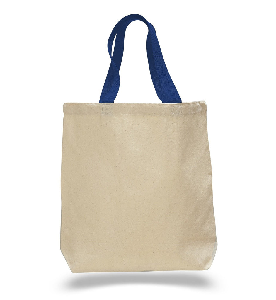2966dc1ffe ... Promotional Cotton Tote Bags with Royal Handles ...
