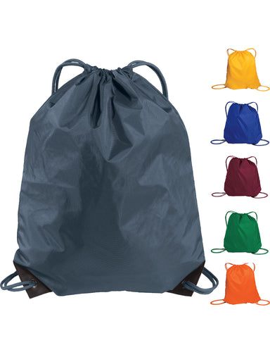 144 ct Oxford Nylon Drawstring Bag / Cinch Pack - By Case