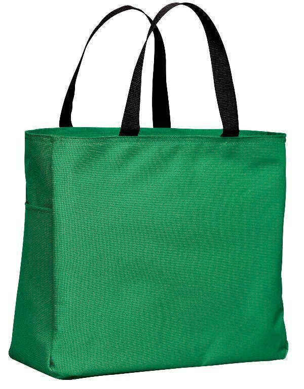 48c5e554ec30 ... Polyester Kelly Green Tote Bags Wholesale ...