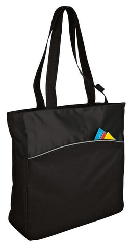 Improved Two-Tone Colorblock Tote Bag
