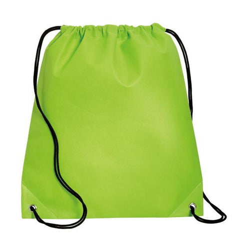 Two-Tone Polypropylene Non-Woven Cinch Pack / Drawstring Bag