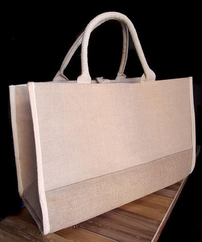 Fashion Jute Tote Bags / Heavy Duty Burlap Bags - TJ892