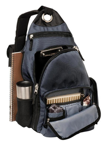 "Cool Sling Pack Backpack with 15"" Laptop Sleeve"