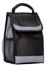 Wholesale Insulated Flap Lunch Cooler Bags in Black
