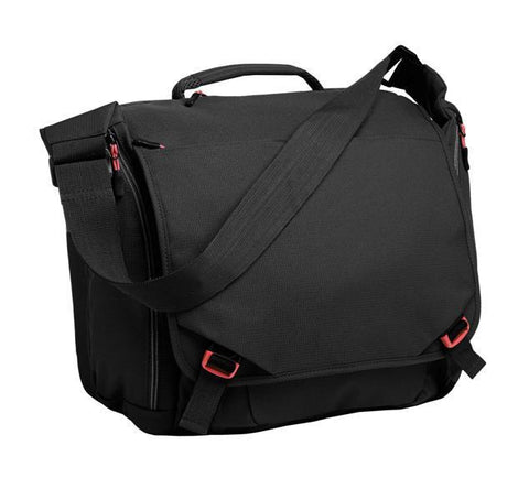 Cyber Messenger Bag with Laptop Sleeve up to 15""