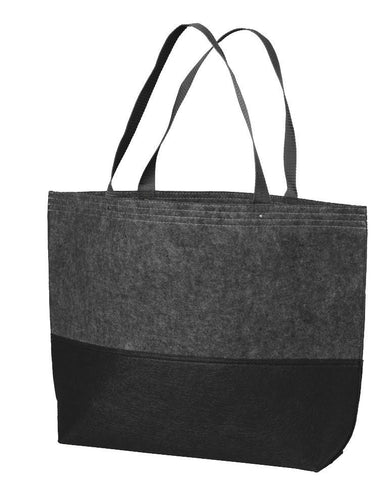 Easy-to-Decorate Felt Cheap Tote Bags Large