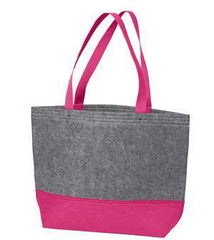 Wholesale Tote Bags felt Raspberry