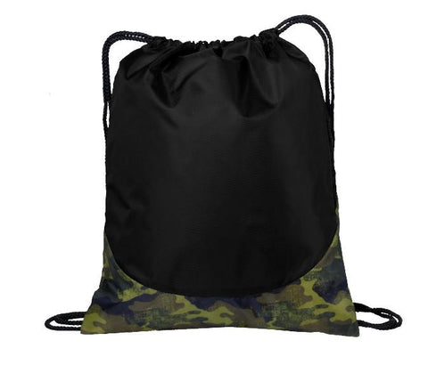 Camouflage Patterned Cheap Drawstring Bags - Backpacks