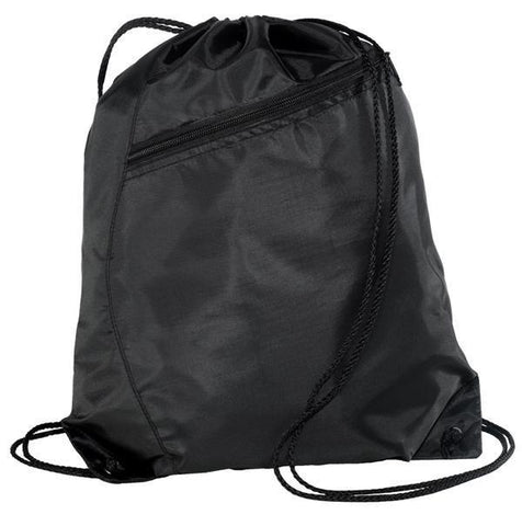 Colorblock Polyester Cinch Pack/Drawstring Bag. BPK166
