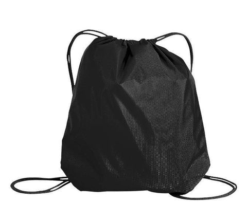 6 ct Oxford Nylon Drawstring Bag / Cinch Pack - Pack of 6